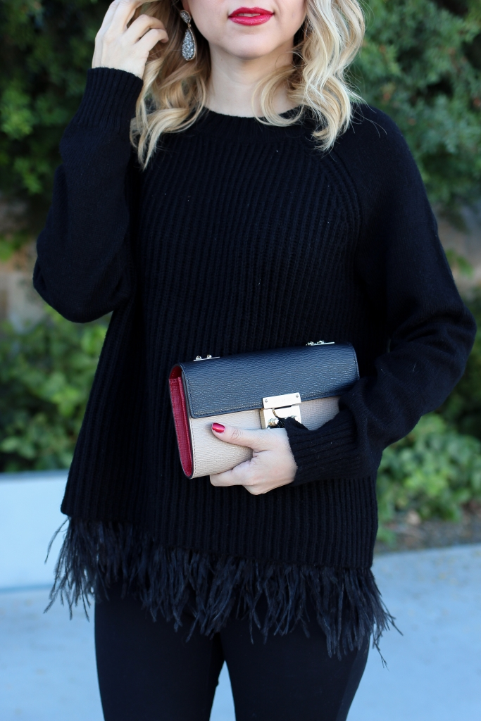 simply sutter - winter style - date night outfit - day to night sweater