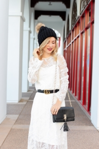Simply Sutter - Whtie Dress - Winter White Outfit