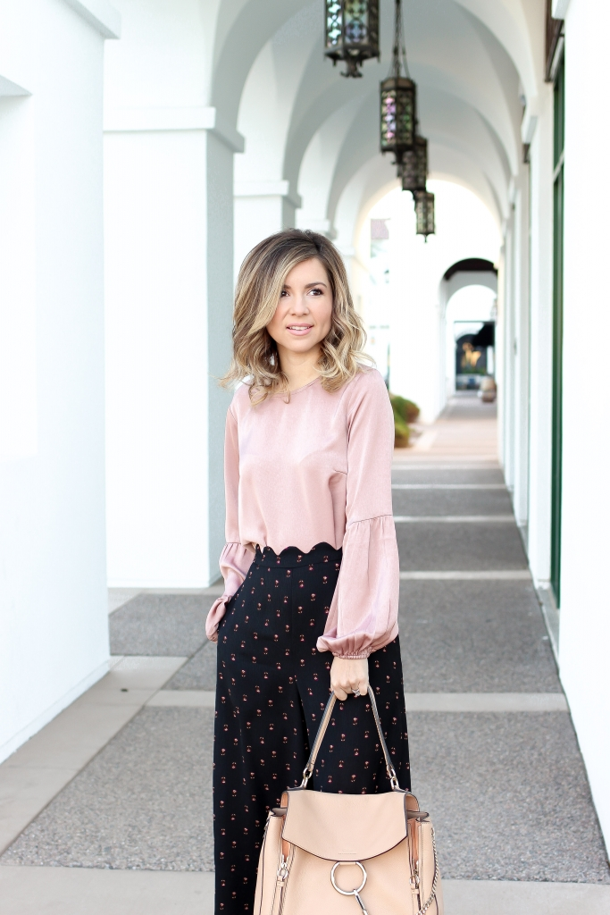 Simply Sutter - Scallop Pants - Spring Style - Cropped pants