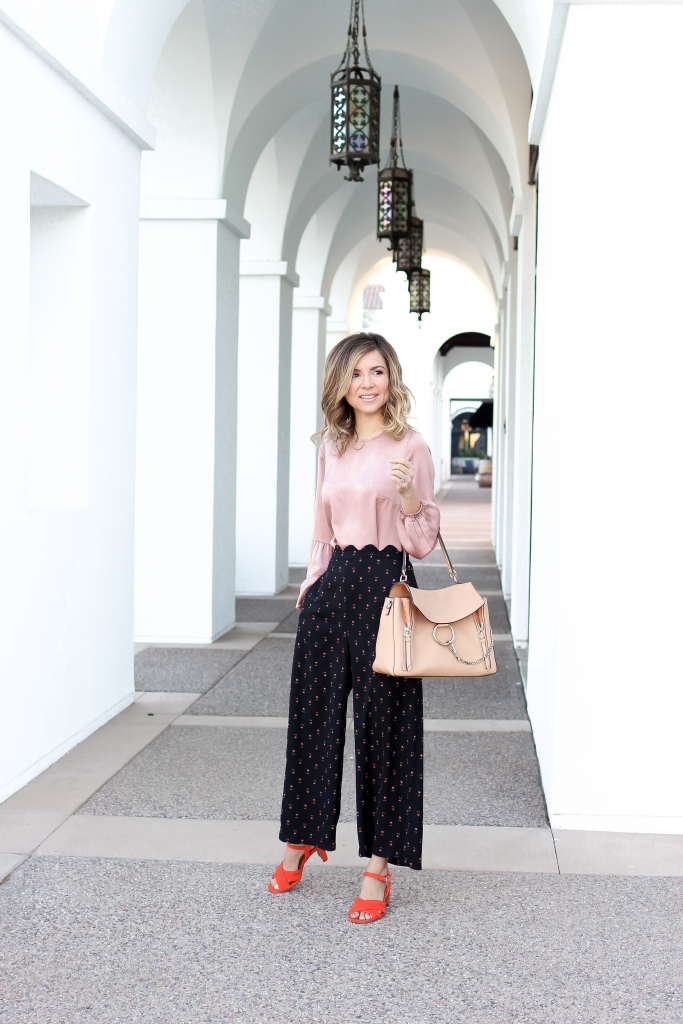 Simply Sutter - cropped pant outfit - Spring style