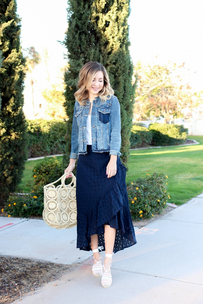 Simply Sutter - straw bag - spring wardrobe - espadrilles