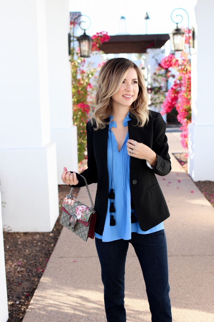 Simply Sutter - Tassel Top - Spring outfit
