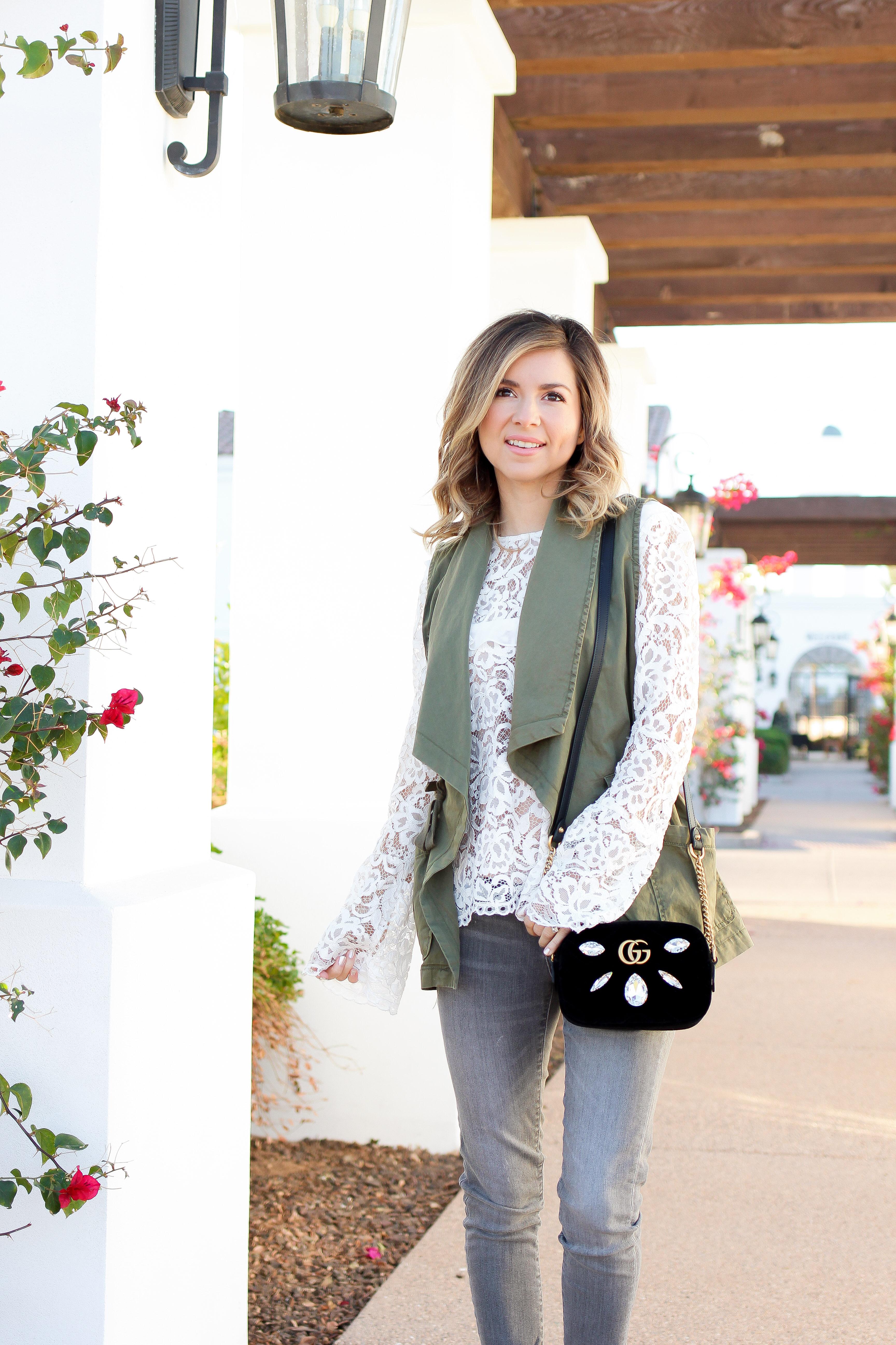 Simply Sutter - Spring outfit - vest - cargo vest