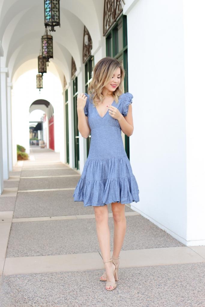 Simply Sutter - Spring Dresses - Denim Dress