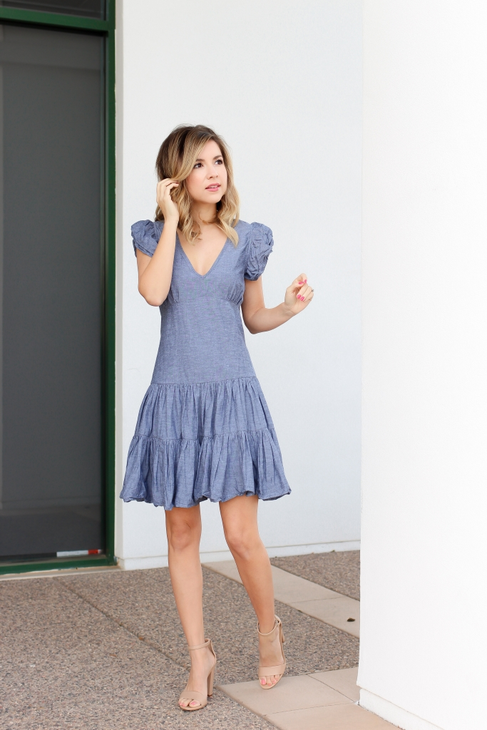 Spring Dress - Simply Sutter - Denim - Denim Dress