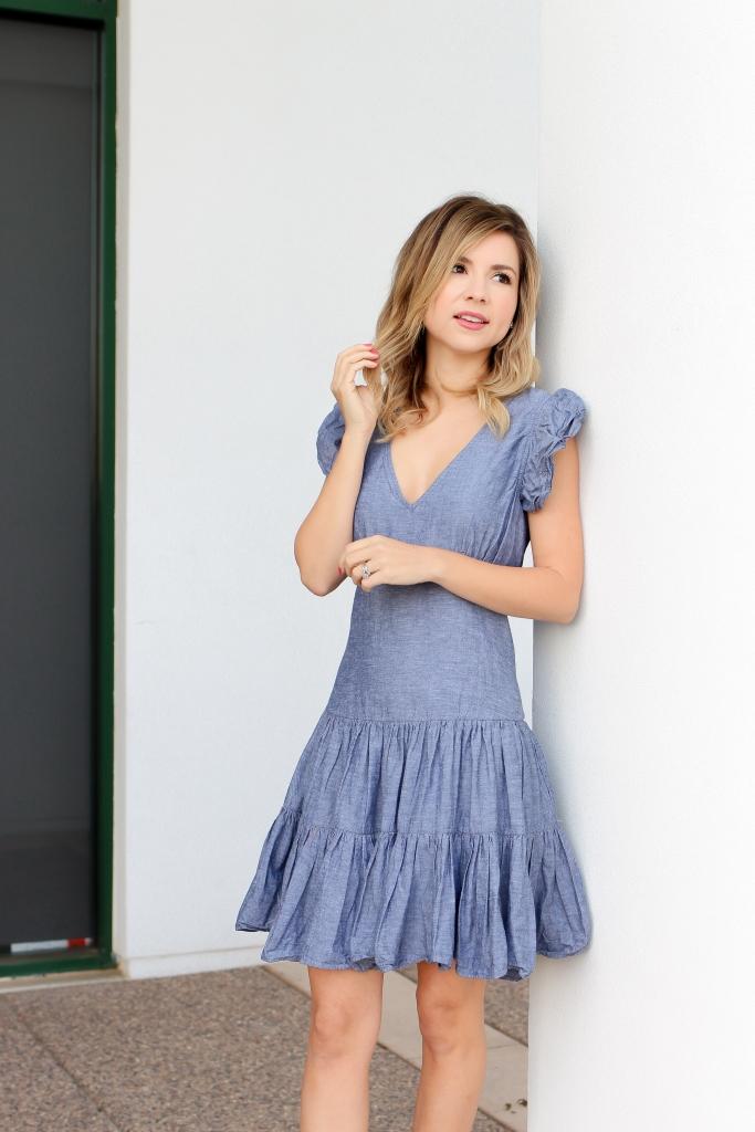 Spring Dresses - Simply Sutter - Denim Dress