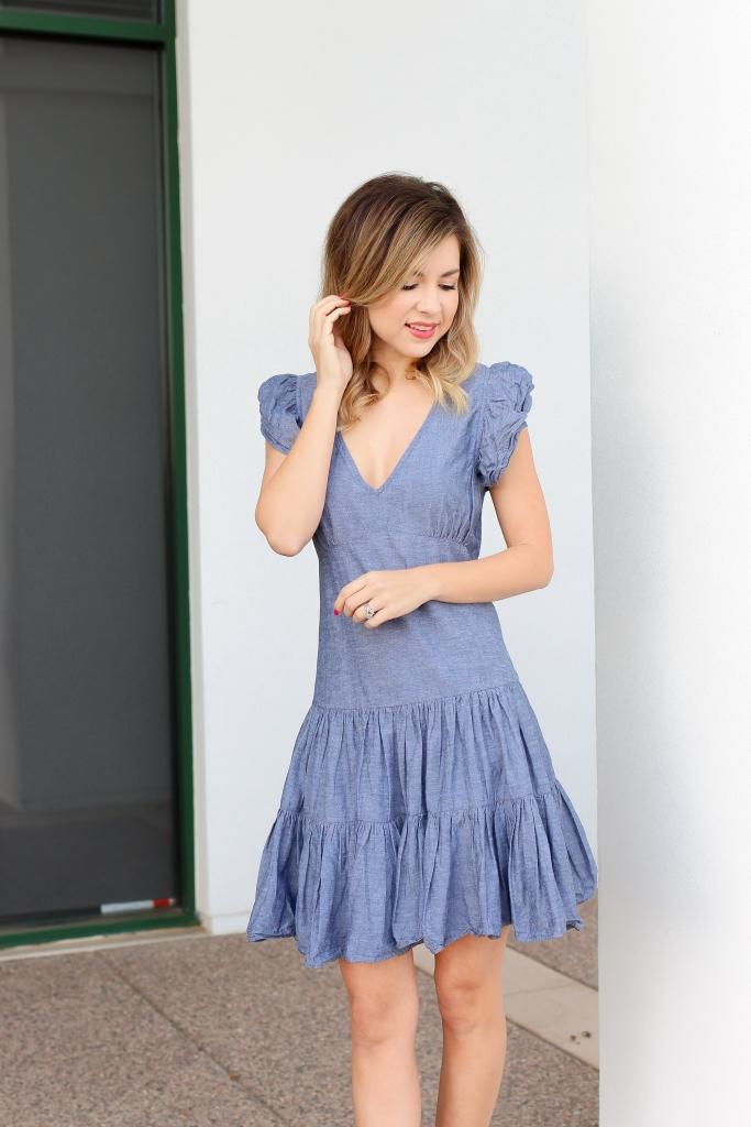 Simply Sutter - Denim Dress - Denim Dresses - Spring Style - Spring Outfit - Spring dresses