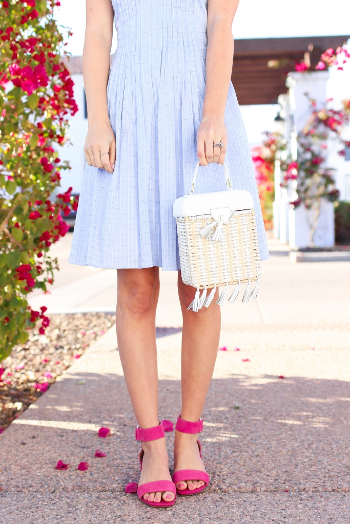 Simply Sutter - Spring Dress - Pink Heels - Spring Style - Easter Dress