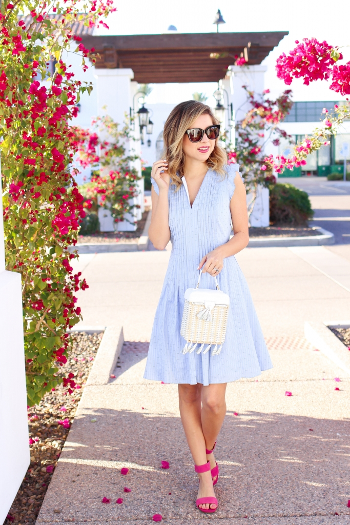 Simply Sutter - Spring Dress - Blue Dress - Easter Outfit