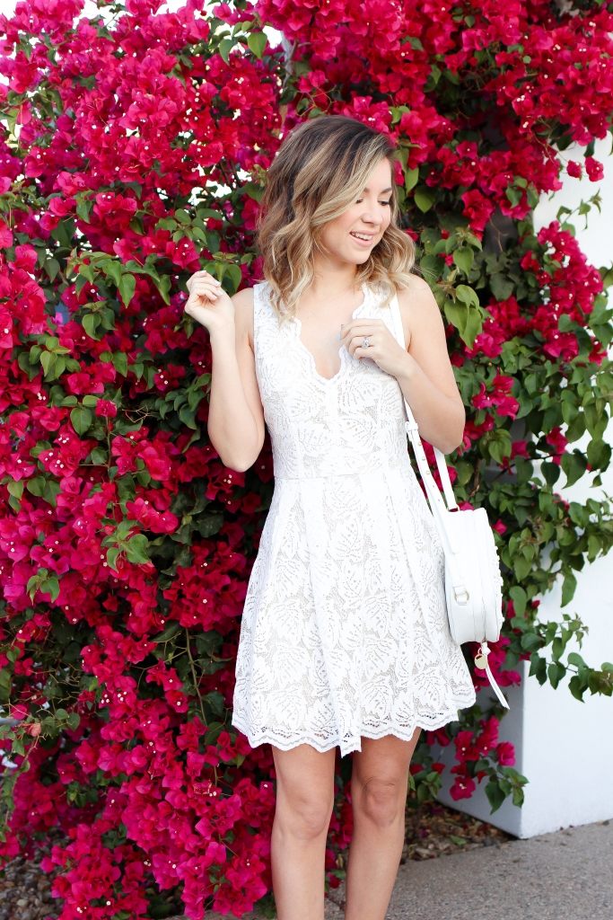 Simply Sutter - Francescas - white - spring style - white dress