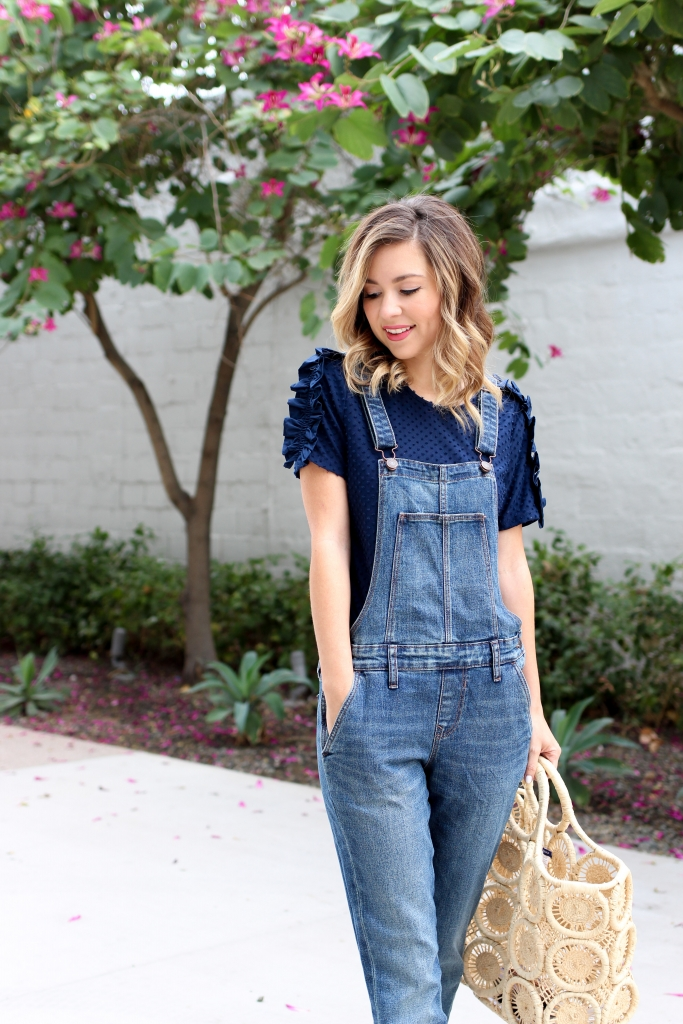 Simply Sutter - overalls - overall outfit - skinny overalls - old navy