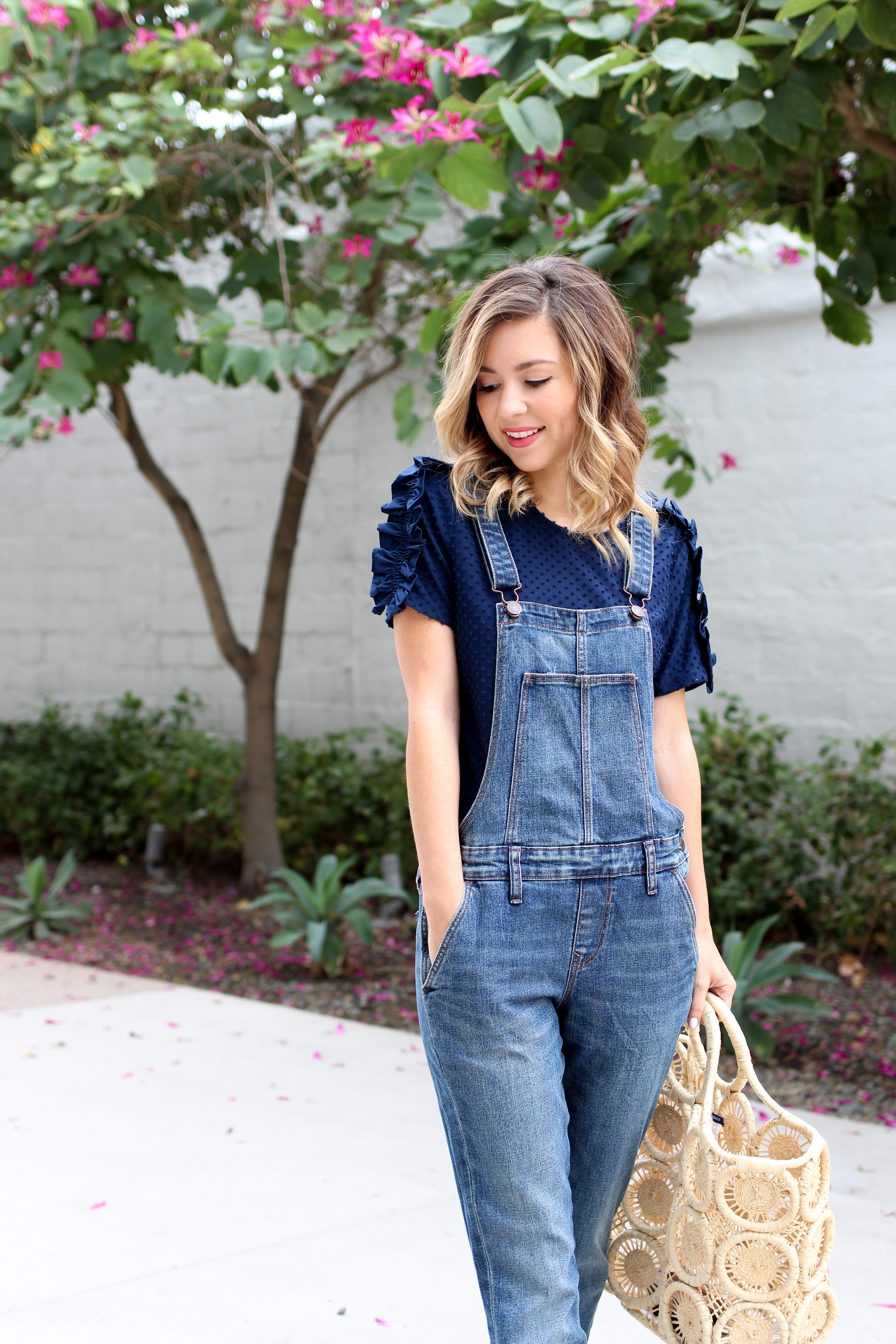 simply sutter – overalls – denim overalls – casual spring