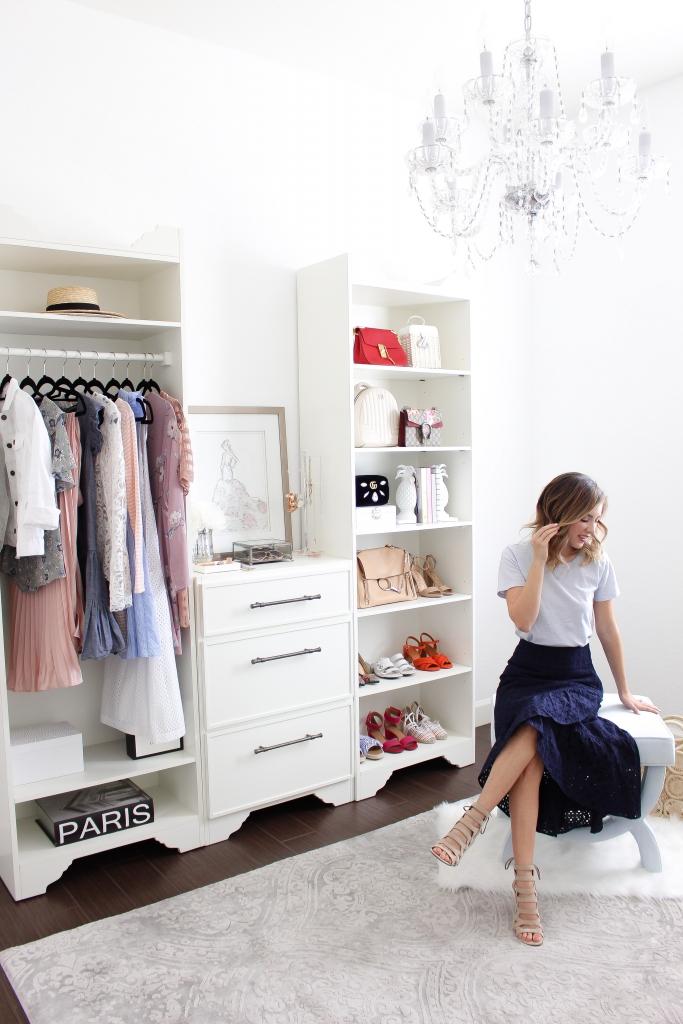 Simply Sutter - Studio Closet - Ballard Designs - Closet System
