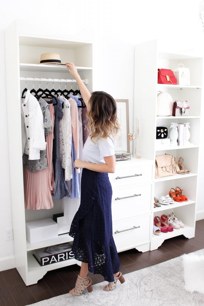 Simply Sutter - Studio Closet - Ballard Designs - clothing rack