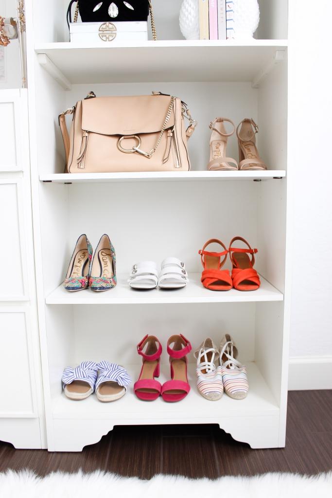 Simply Sutter - Closet - Studio Closet - Blogger Closet - pretty closet - ballard designs