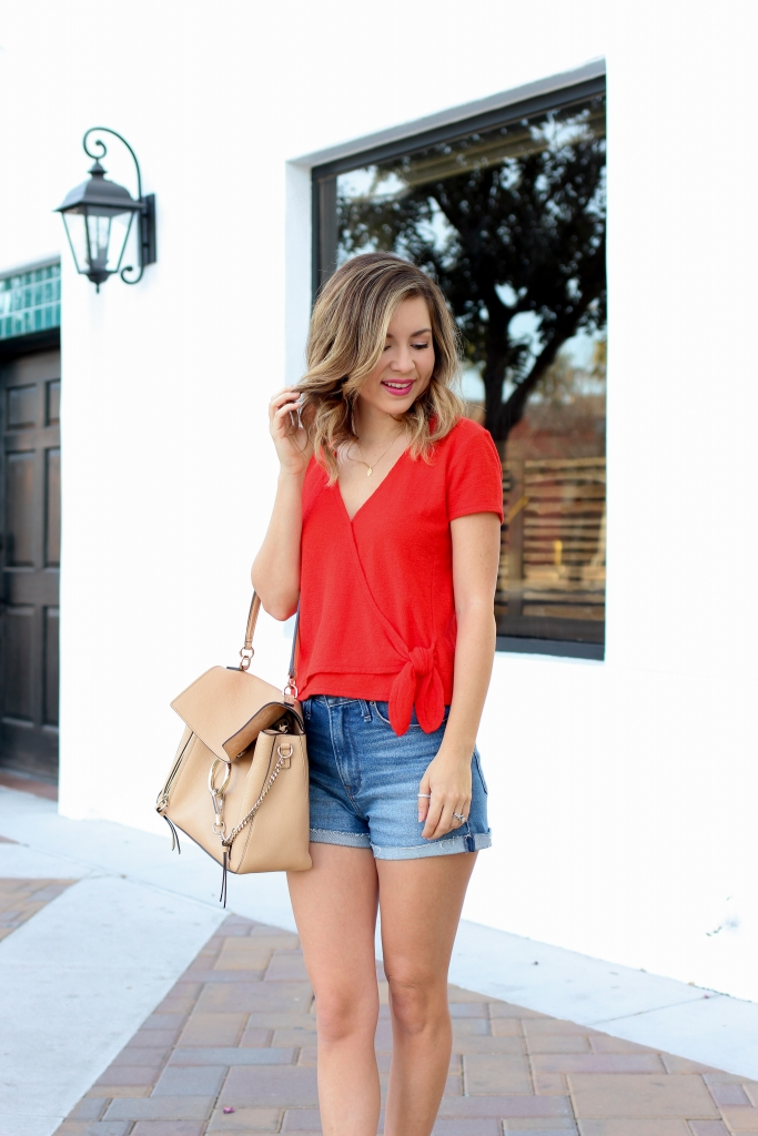 Simply Sutter - Wrap top - Tie top - casual outfit