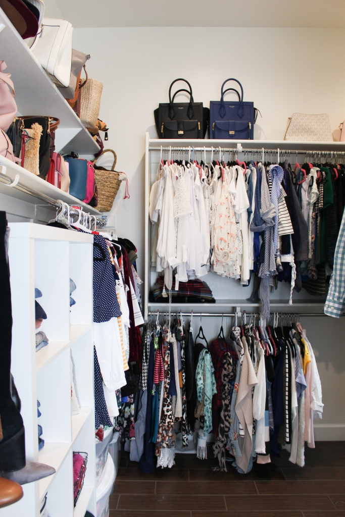 Simply Sutter - Master Closet - Walk in closet
