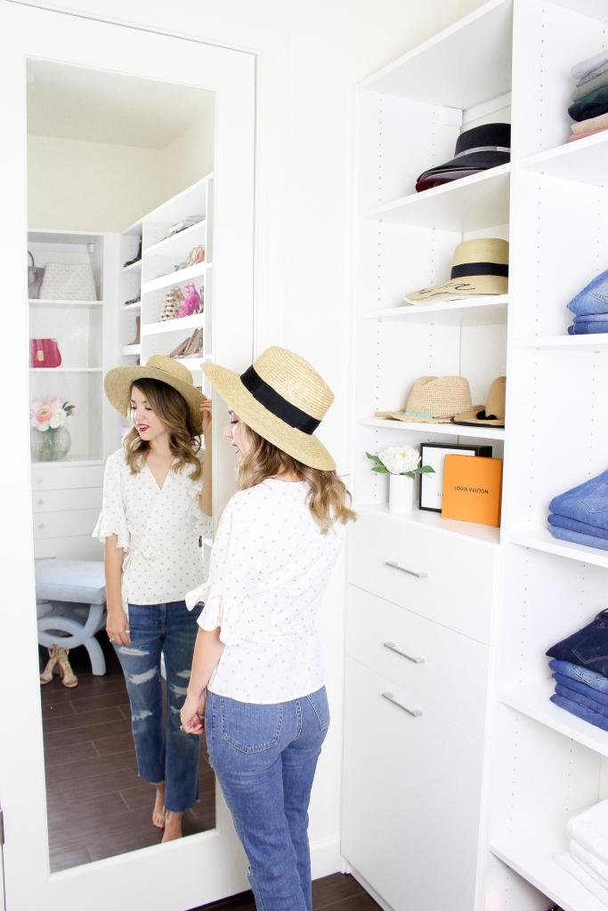 Simply Sutter - California Closets - Walk in closet - Master closet