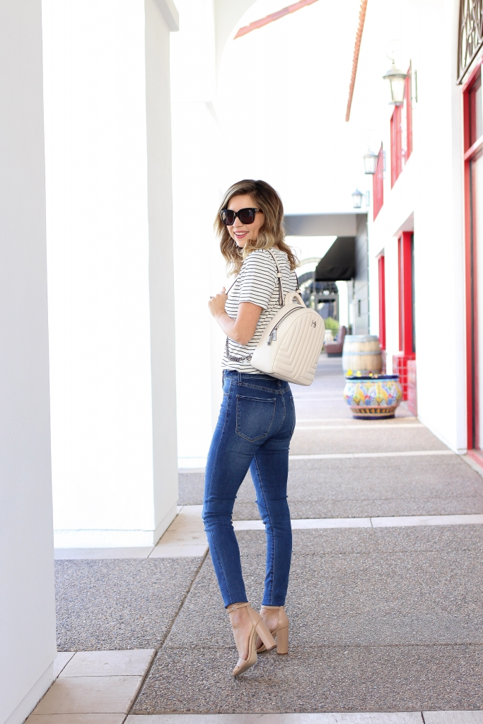 Simply Sutter - Old Navy - Backpack - Denim outfit