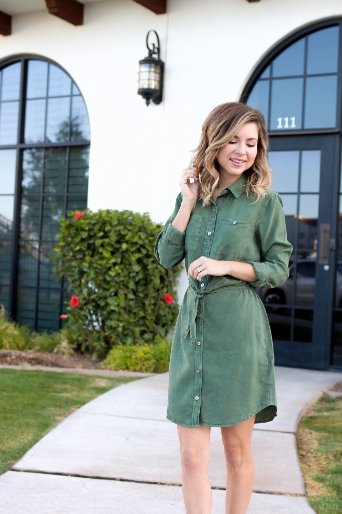 Simply Sutter - Olive Dress - Olive Green Dresses