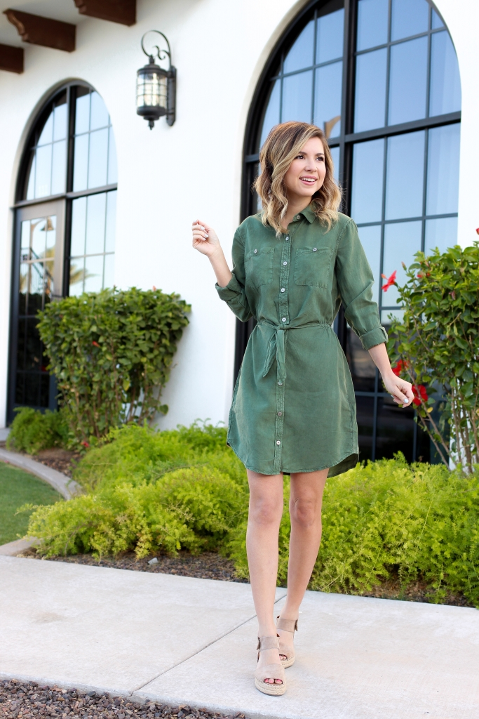 Simply Sutter - Olive dresses - spring style