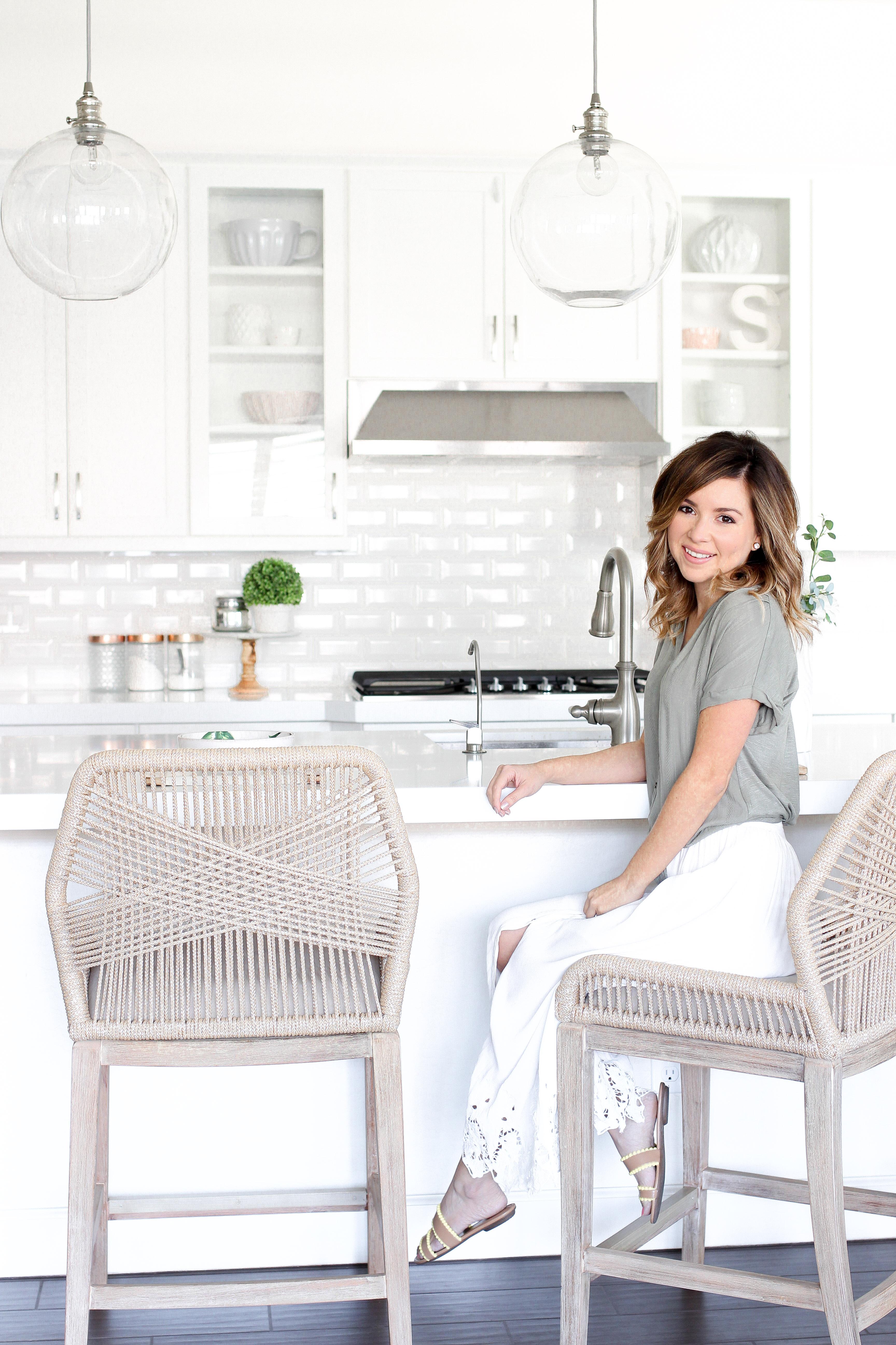 Simply Sutter - White Kitchen - Hayneedle - Dream Kitchen