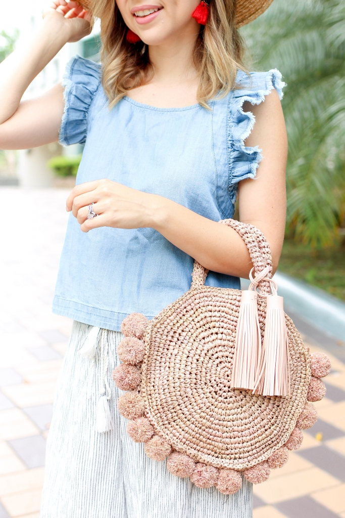 Simply Sutter - Straw Bag - Summer Bag