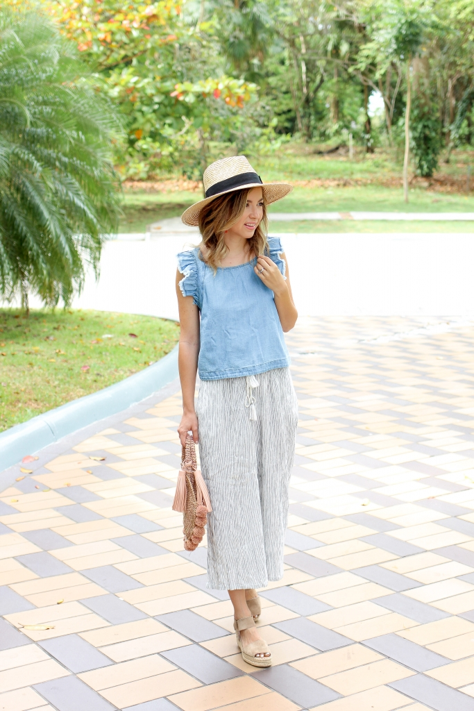 Simply Sutter - Summer outfit - crop pants
