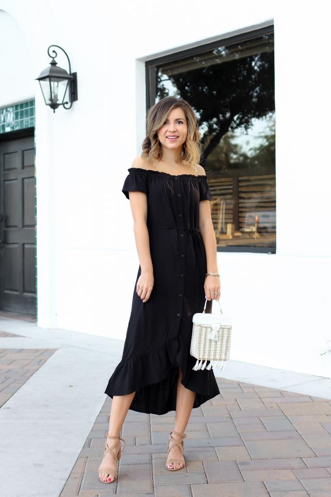 Simply Sutter - Day to night dress - maxi dress - black dress - summer dress