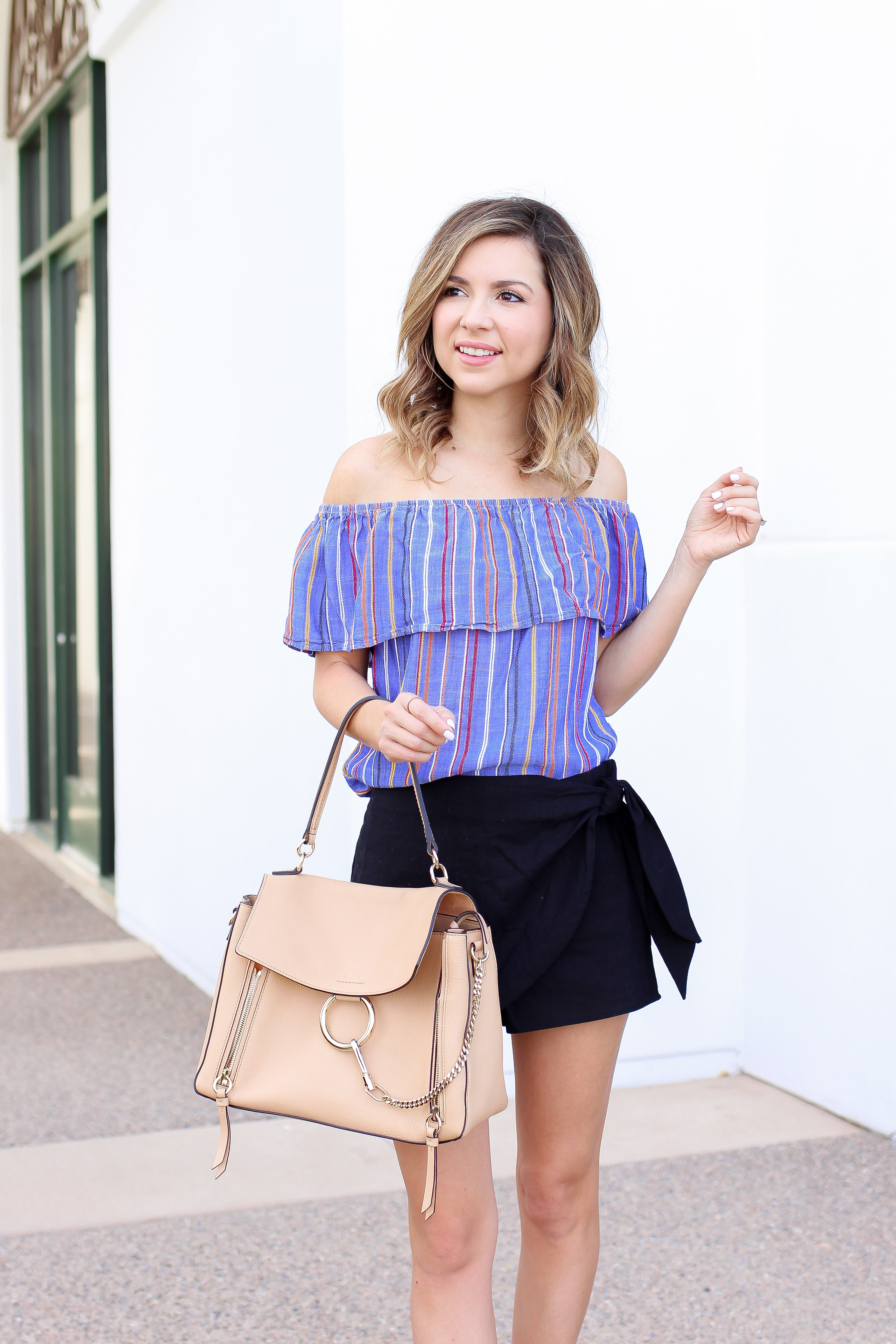 Simply Sutter - OTS - Skort - summer outfit
