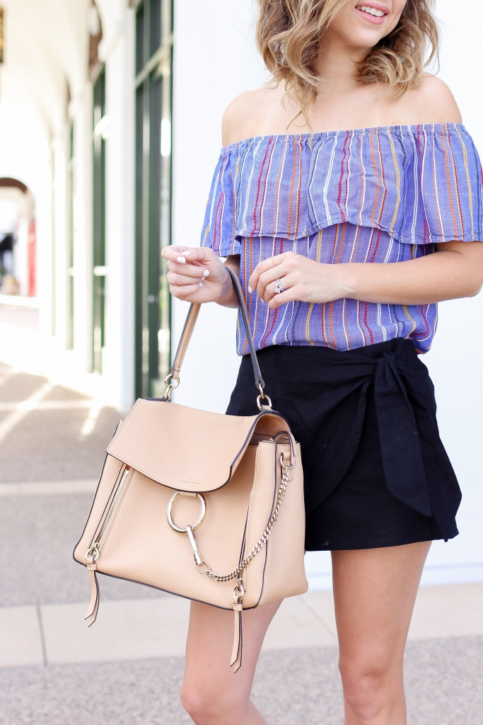 Simply Sutter - OTS - Skort - summer outfits - easy summer outfit