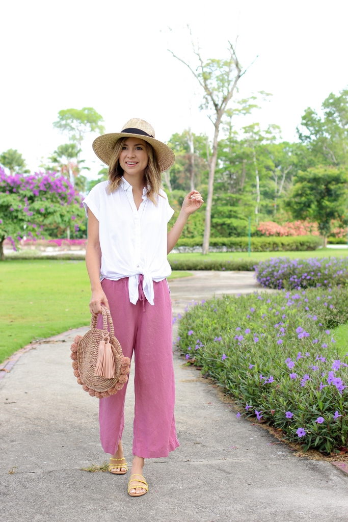 Simply Sutter - casual look - linen pants