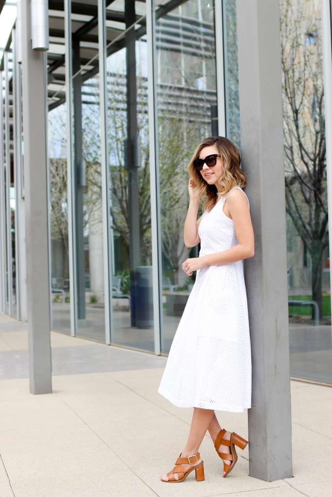 Simply Sutter - Banana Republic - White Dress - Summer Dress - White Dress outfit - best whtie dresses - summer style