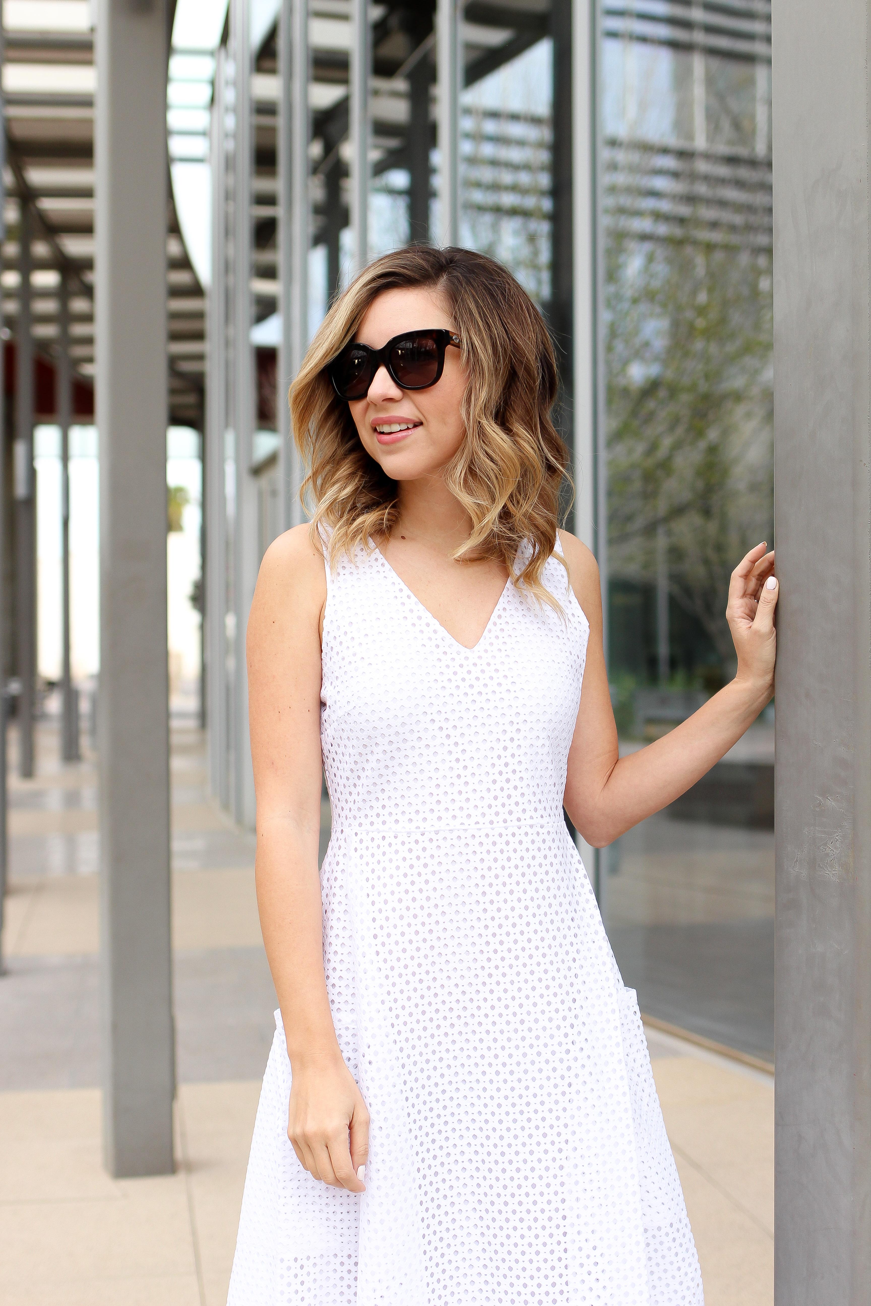 Simply Sutter - Banana Republic - White Dresses - Summer Dresses