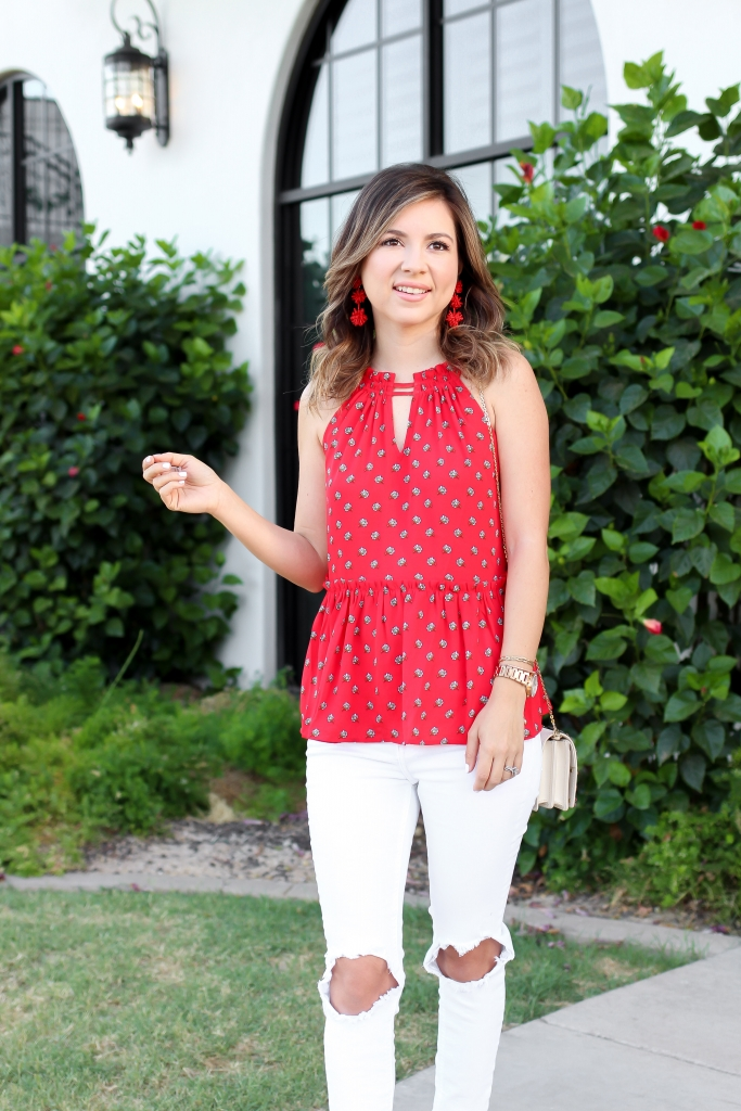 Simply Sutter - Halter Cami - Summer Outfit - Loft Style