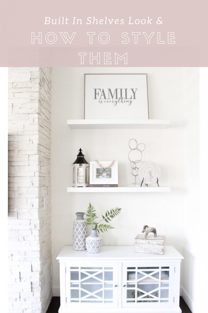 Simply Sutter - Hayneedle - Home Decor - built in shelves - shelf decor