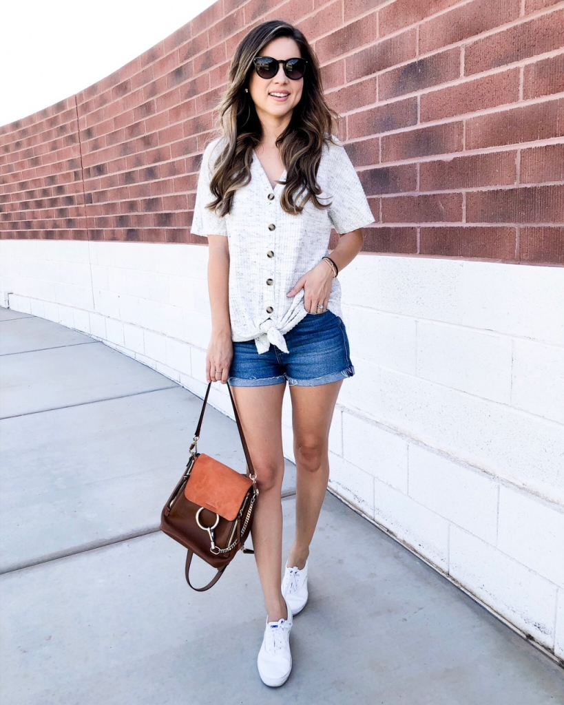 knot top - casual outfits