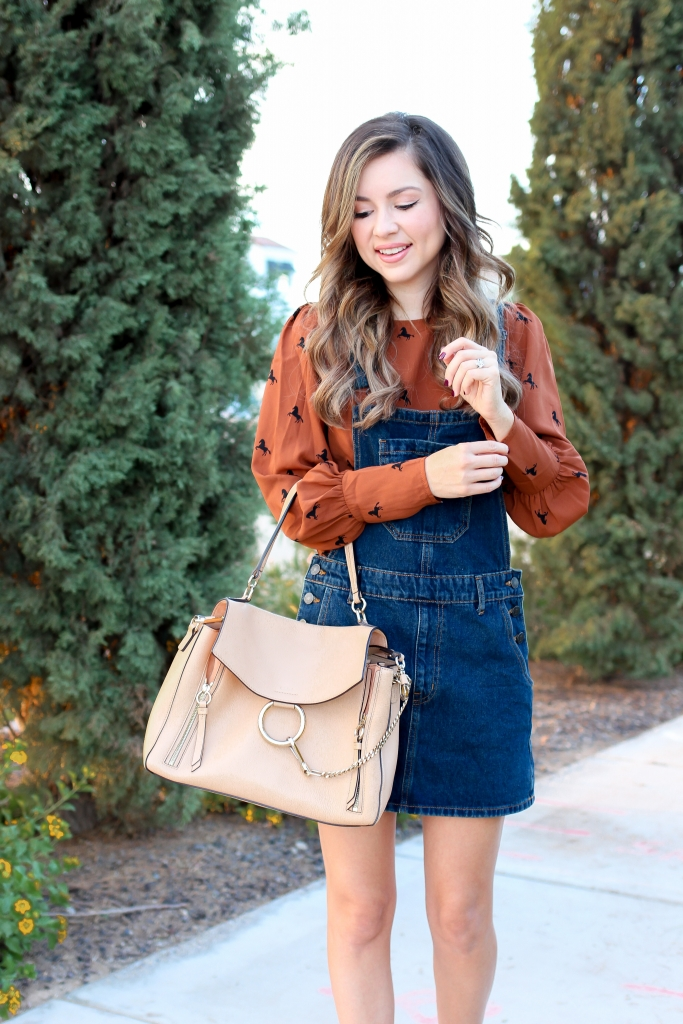 Simply Sutter - Fall Overalls - Overalls - Best Fall Outfit - fall style - autumn style - denim overalls - forever21