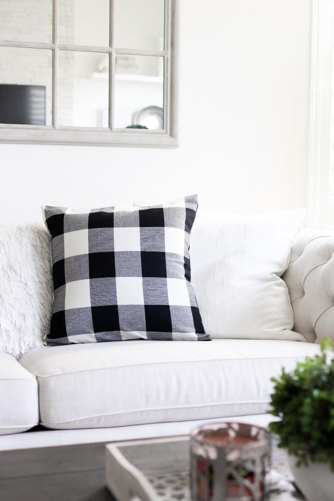 Simply Sutter - Plaid Pillows - Home Decor - Farmhouse pillows