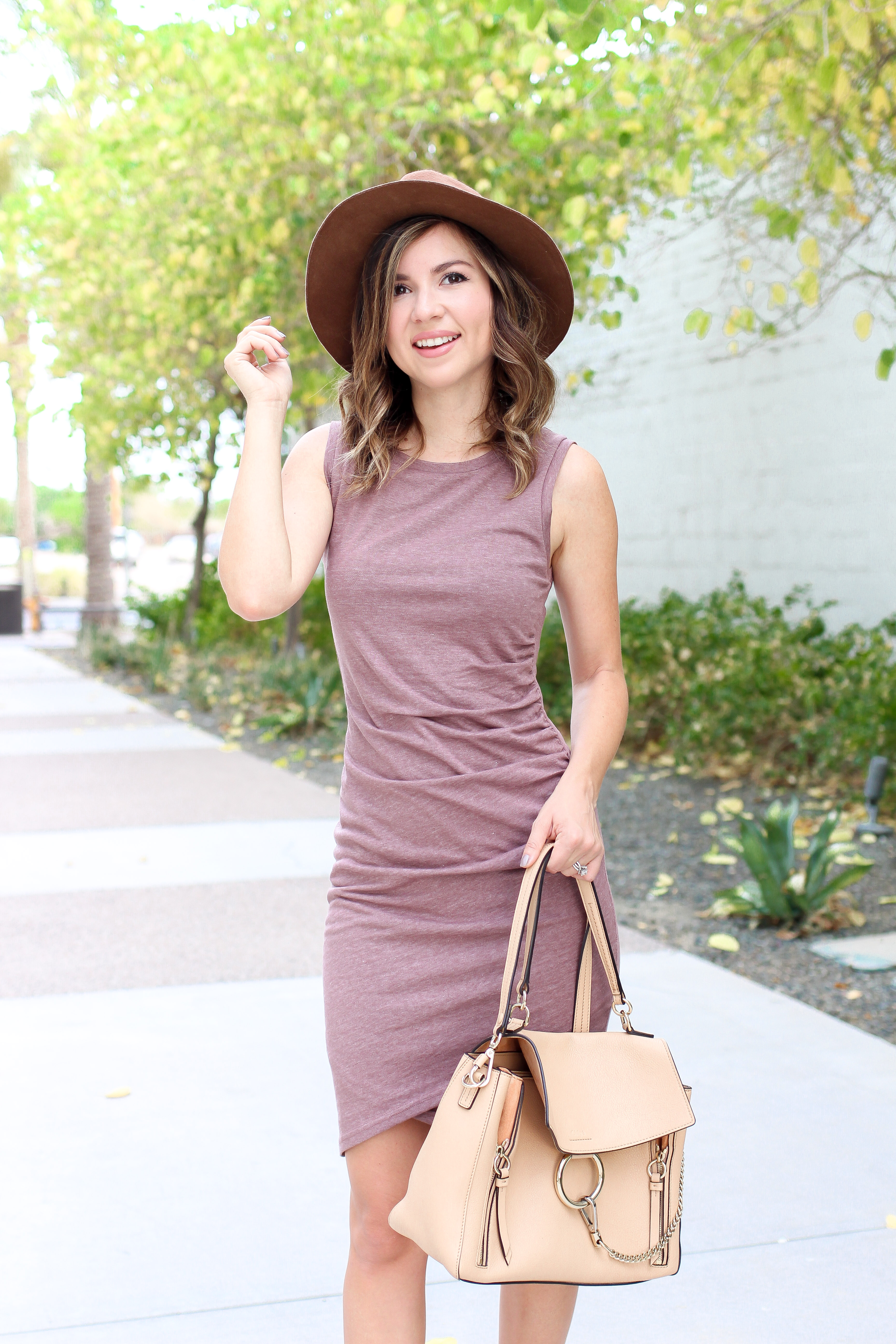 Simply Sutter - fall dress - dress and boots - dress and hat - best fall dress