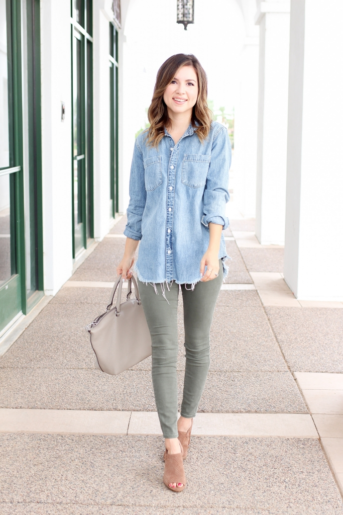 Simply Sutter - Denim Shirt - Distressed denim shirt - casual outfit