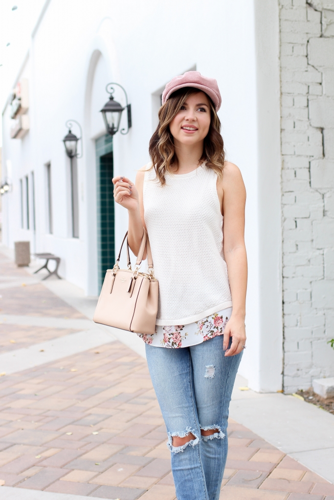 Simply Sutter - Loft - sweater - sweater tank - fall outfit
