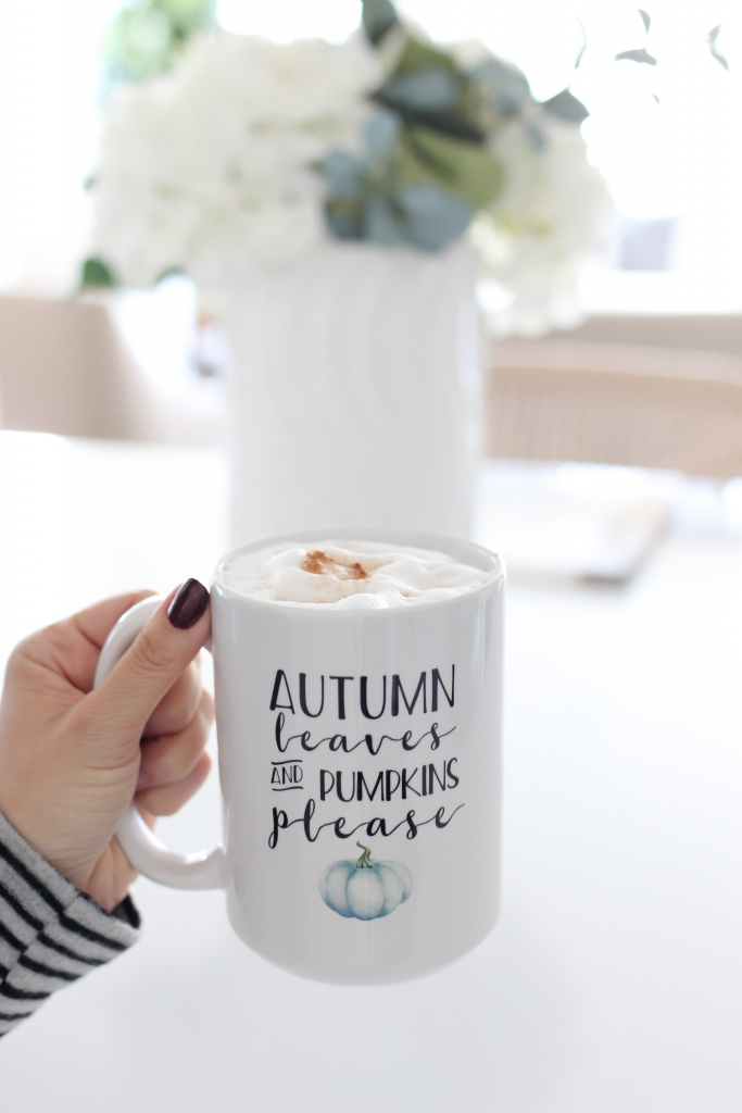 simply sutter - fall coffee - fall recipe - pumpkin coffee recipe