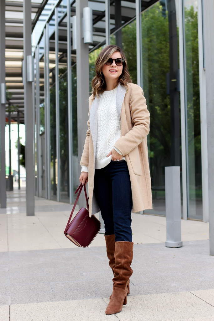 Simply Sutter - Slouchy boots - fall in arizona - banana republic - easy fall outfits - camel coat