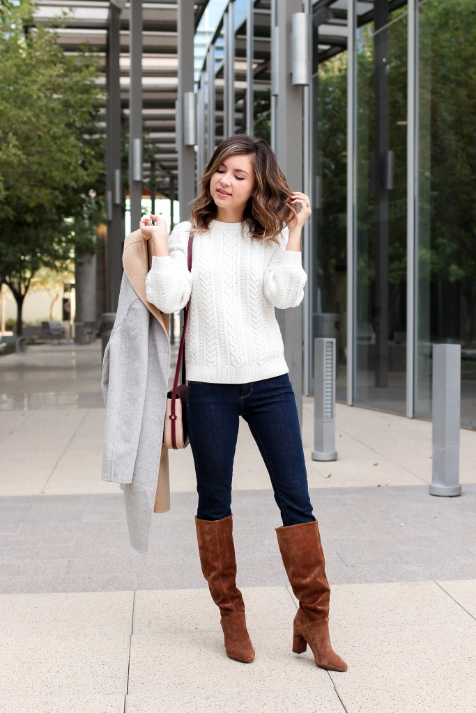 Simply Sutter - Slouchy boots - fall in arizona - banana republic - easy fall outfits