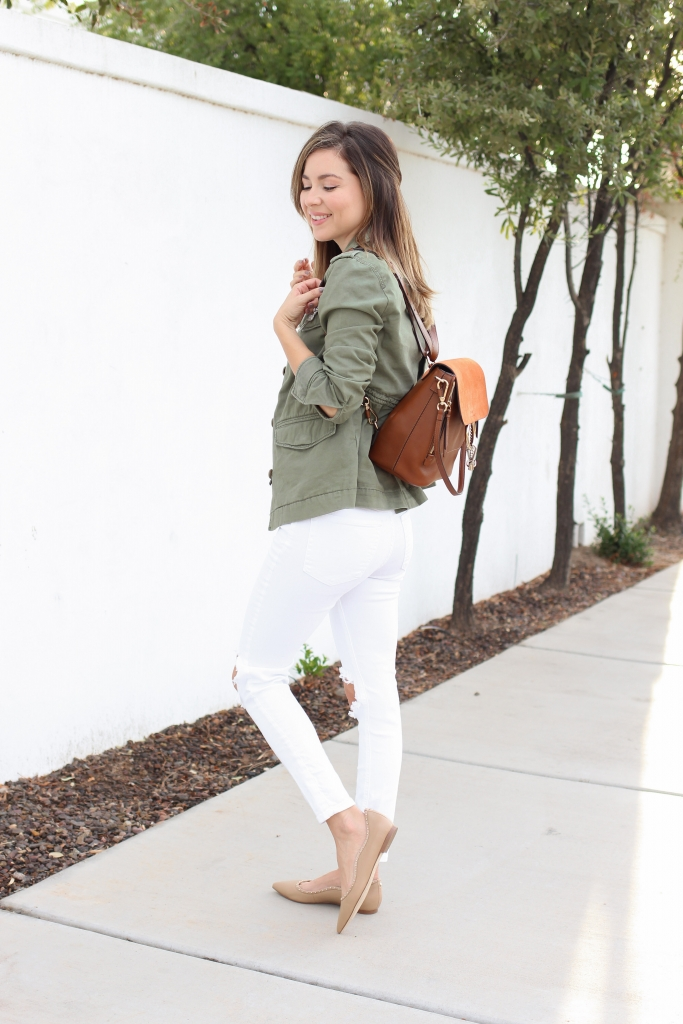 Simply Sutter - Olive jackets - utility jacket - how to wear utility jacket - best fall outfits