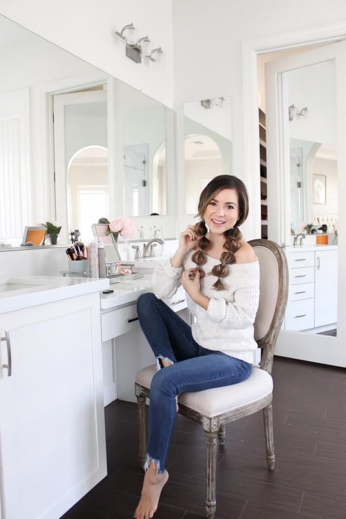 Simply Sutter - Hair tutorial - pom pom braids - easy hairstyle