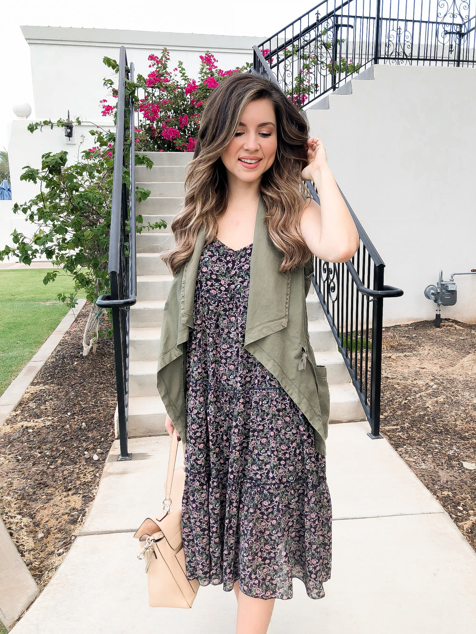 How To Style Dress from Fall - fall dress - how to layer dress for fall - fall dress and boots