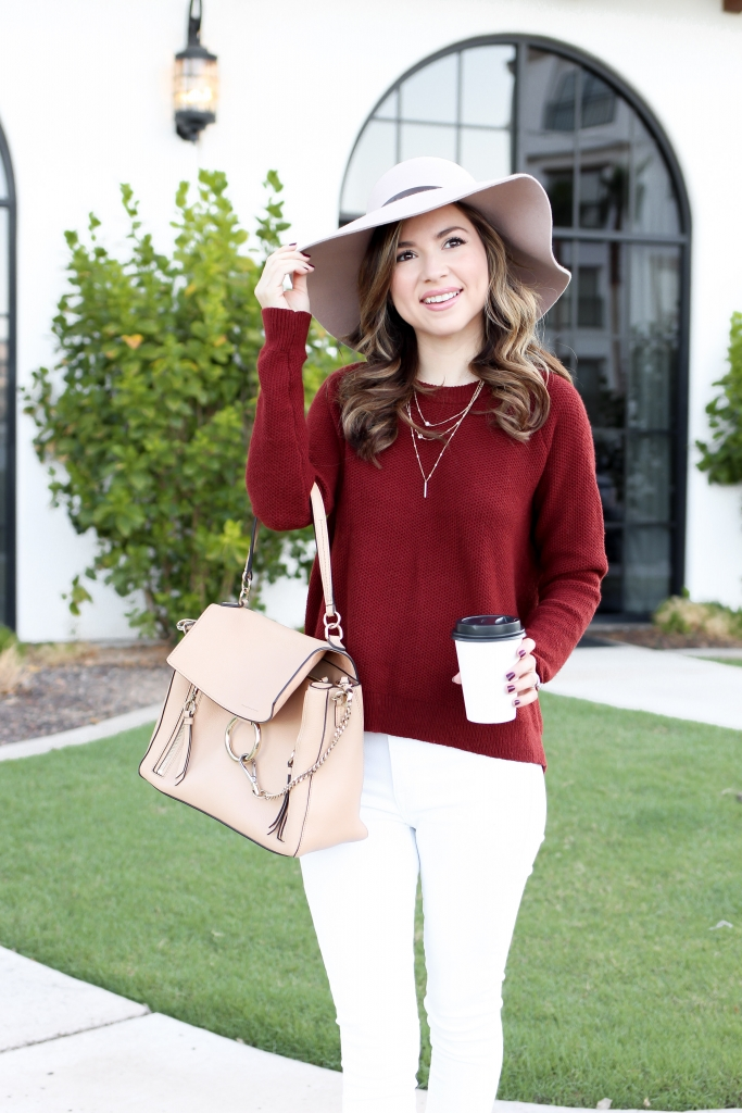 how to wear a sweater - casual sweater outfits - best fall outfits - medewell sweater - simply sutter