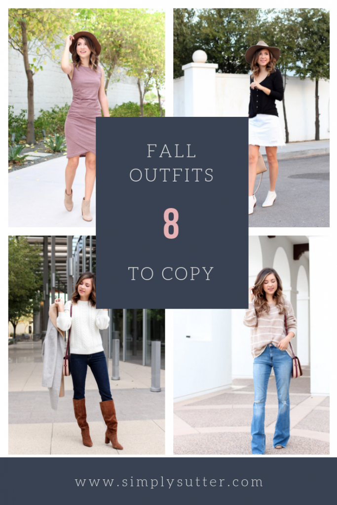 8 fall outfits to copy - 8 casual fall outfits to wear